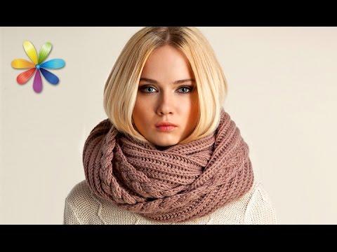 Как называется шарф который одевается на шею