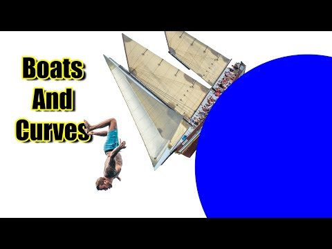 Boats and Curves Flat Earth