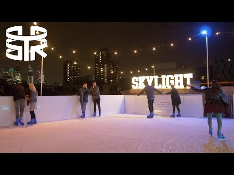 SKYLIGHT rooftop ice rink London
