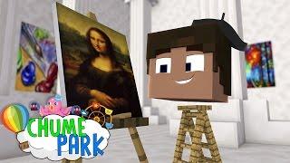 Minecraft: GUTIN VIROU UM ARTISTA?! (Chume Park #11)