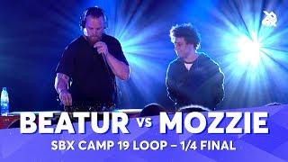 BEATUR vs MOZZIE | SBX Camp 2019 Loopstation Battle | 1/4 Final