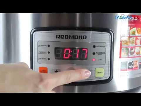 Видеообзор мультиварки Redmond RMC M4525