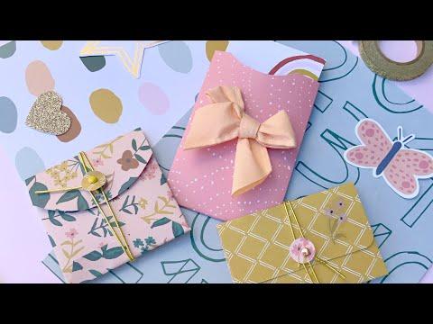 Mini Envelopes Tutorial! 3 Easy fun DIY