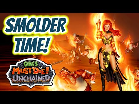 Orcs Must Die! Unchained   Smolder Time