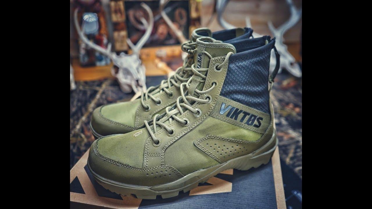 Viktos Johnny combat boots first look
