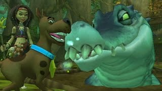Scooby-Doo! and the Spooky Swamp (Wii) Walkthrough Finale - Swamp Monster (Boss Fight)
