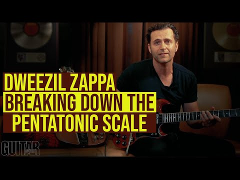 Dweezil Zappa - Breaking down the pentatonic scale into two-string shapes