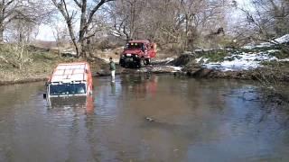 水没~レスキュー_Going under water~rescue_OB号_201101_KS川_DEFENDE...
