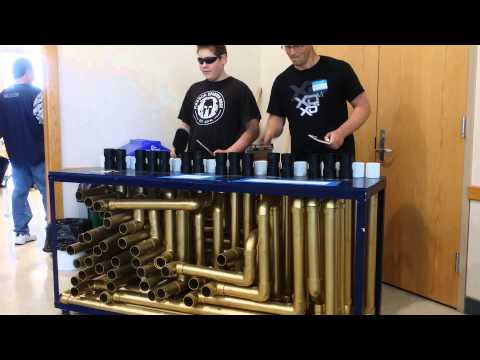 Haller Middle School Math Olympiad PVC Pipe Instrument