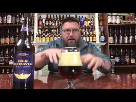 Massive Beer Reviews # 605 Victory Brewing's Old Horizontal American Barleywine