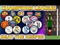 Beat The Keeper - UEFA Champions League 2018/19 Predictions - Round of 16 (Part 1 of 2)