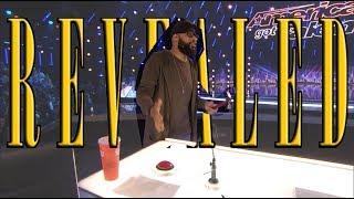 Magic Reveal: Eric Jones (Hammer trick) in AGT 2017 America's Got Talent