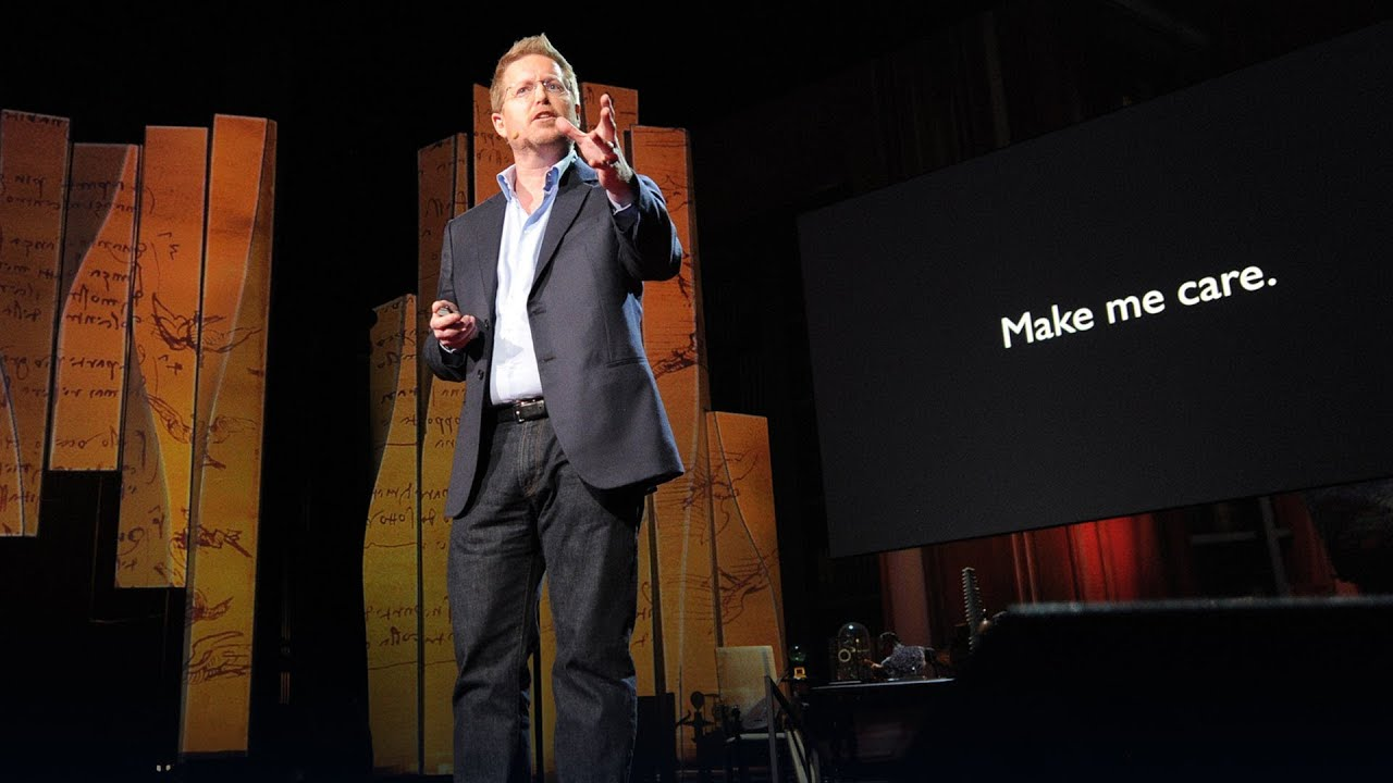 Andrew Stanton: The clues to a great story - YouTube