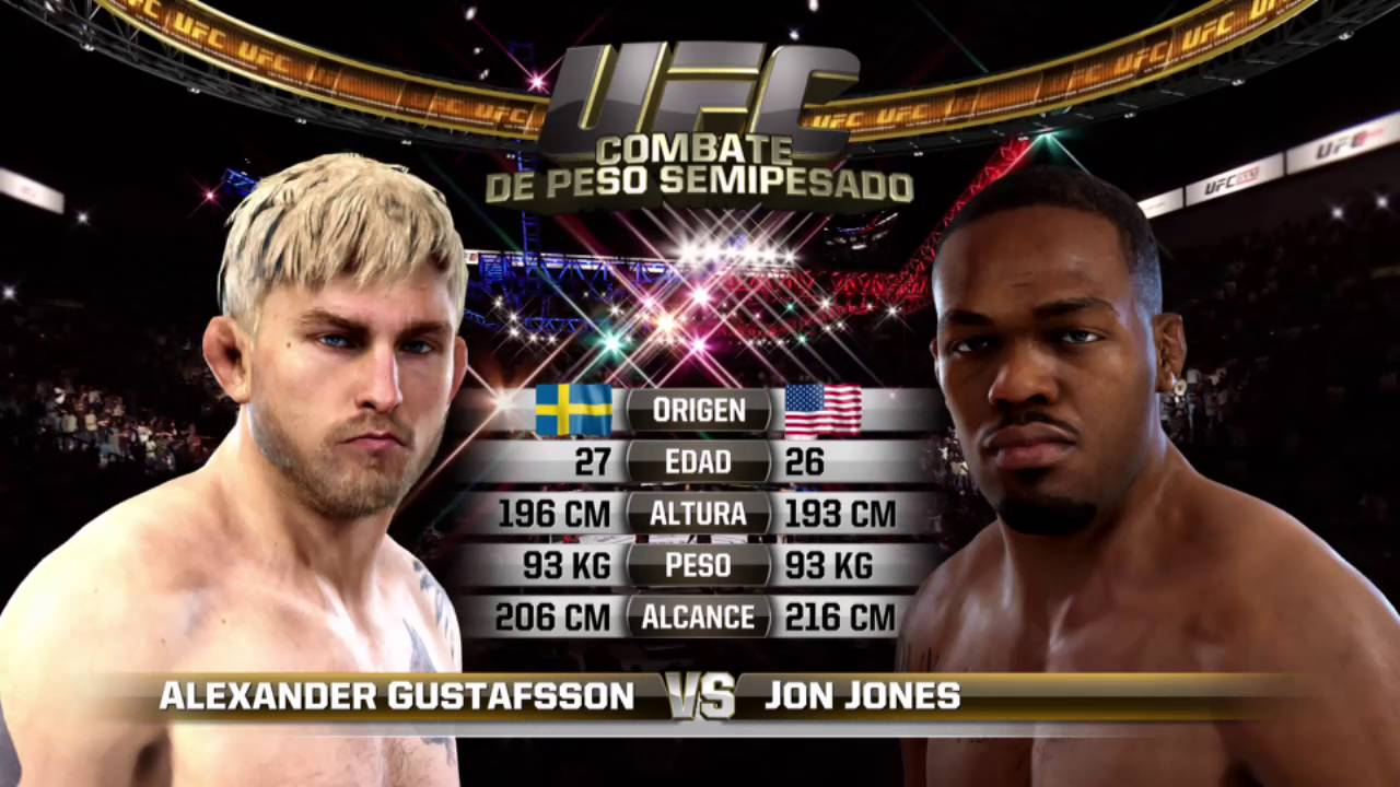 Jon Jones Vs Alexander Gustafsson Weigh In