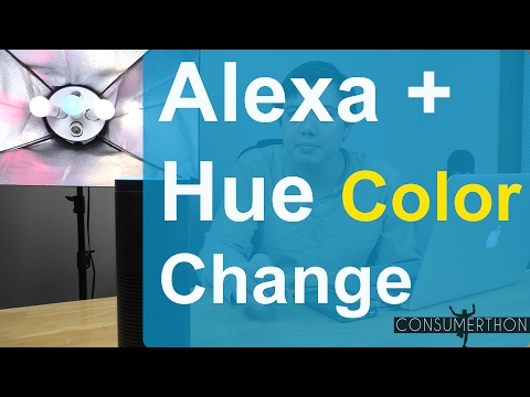 How To Change Color With Alexa and Hue