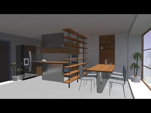 Основы ArchiCAD. Построение дома, интерьера и визуализация в Artlantis. Часть 2 (Рендер в Artlantis)