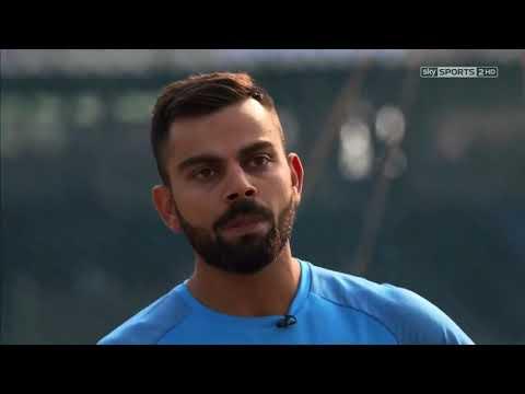 virat kohli improving his batting skills with nassir hussain