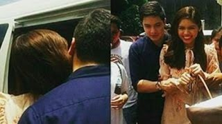 Eat Bulaga May 23 2017 Maine gave Alden something to inspire him while they're together shooting