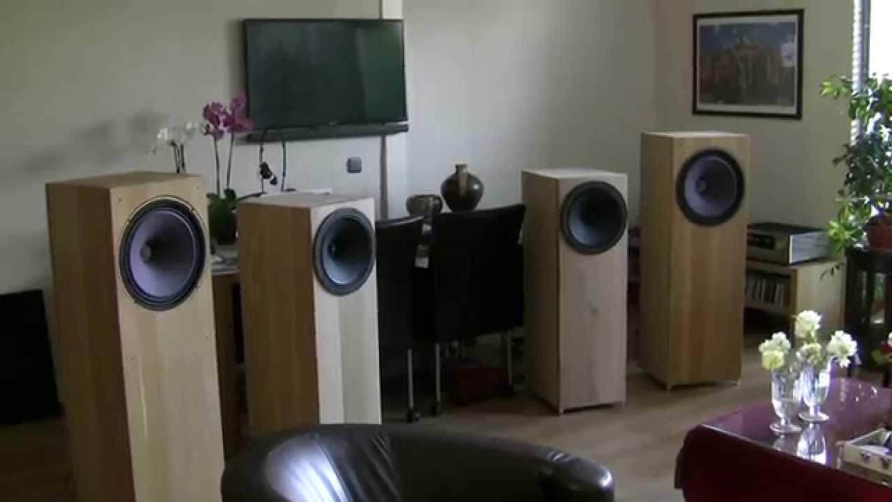 Tannoy Hpd 385 Diy Loudspeaker Youtube
