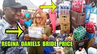 See How REGINA DANIELS Marriage Bride Price Was Paid By Her Billionaire Husband