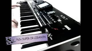 Korg Pa3x Super Or [ Live Oriental Styles Demo ]