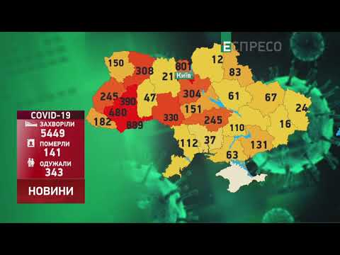 Коронавирус в Украине: статистика за 19 апреля
