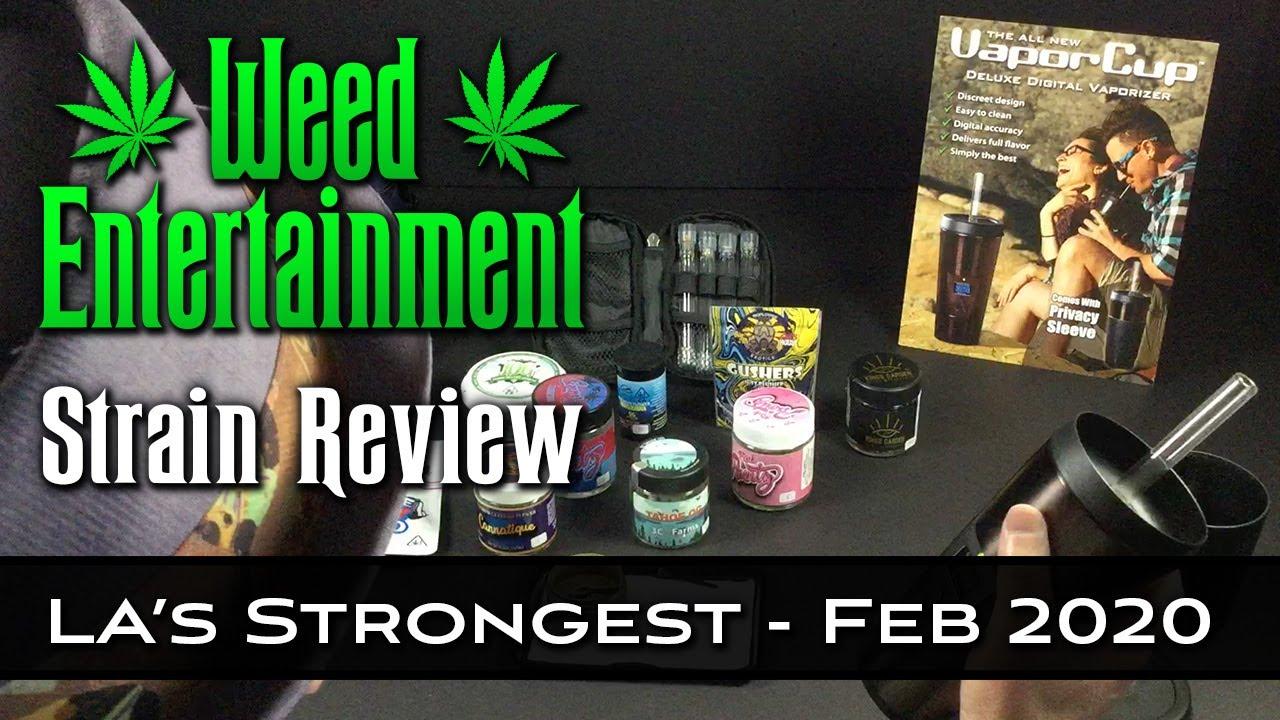 LA's Strongest Strains (Feb 2020) - Top 10 - Multi-Strain Review