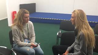 Love Island, Fed Cup Antics & Doubles w/ Katie Boulter | Nature Valley Classic 2018 | Forward Factor