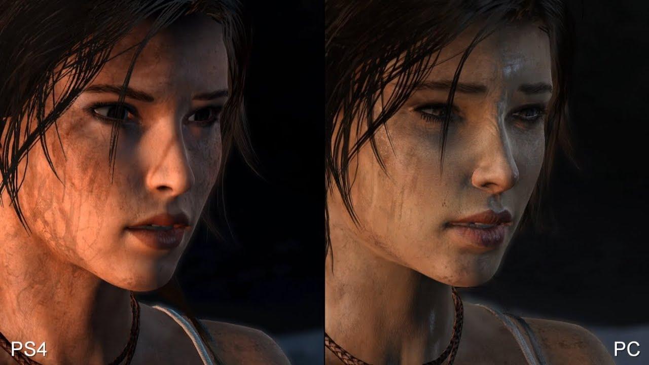 Tomb Raider Ps4 Definitive Vs Pc Ultimate Settings Comparison