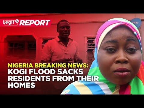 Nigeria Breaking News: Kogi Flood Sacks Residents from Their Homes | Naij.com TV