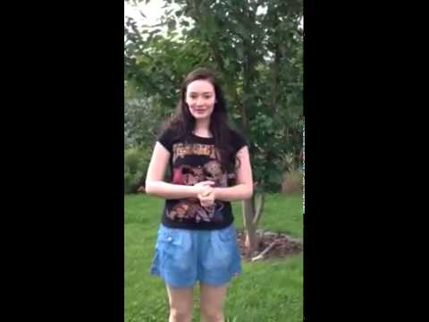 Maria Ehrich  Ice Bucket Challenge ALS