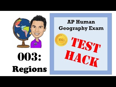 AP Human Geography Test Hacks - 003 Regions & Thematic Maps