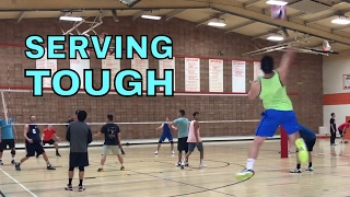 SERVING TOUGH - Finals Full Game NCVA 2017 League 3 Volleyball Tournament