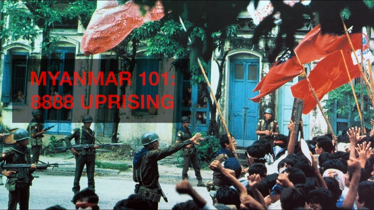 Myanmar 101: The 8888 Uprising