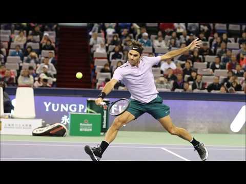 Roger Federer Shanghai Rolex Masters 2017 Practice time