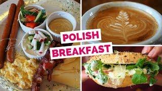 Breakfast in Poland | Eating Polish breakfast in Krakow