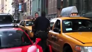 Arrest of a Julien Chabbott's boyfreind in New York City. Ferrari runs over Police.