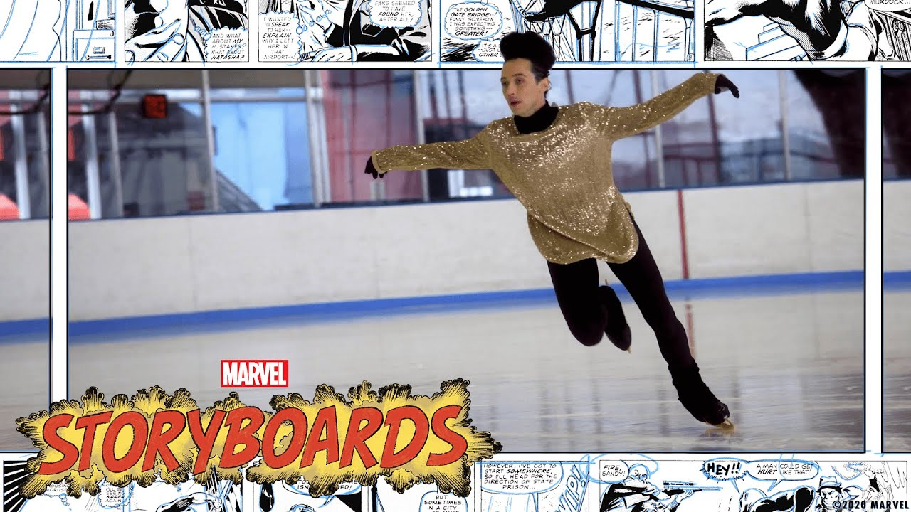 Johnny Weir & The History of Super Hero Costumes! | Marvel's Storyboards