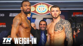 Full Weigh-In from Hart vs Smith Jr