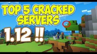Top 5 Cracked Minecraft Servers v. 1.12 !! [ Skywars , Bedwars , Eggwars ] NEW 2017