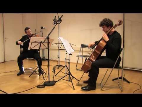 Giacomo Platini - IxI (one times one) Duo per violino e violoncello, 2012
