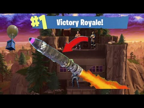 Rocket Launch *Gameplay* in Fortnite?! - YouTube