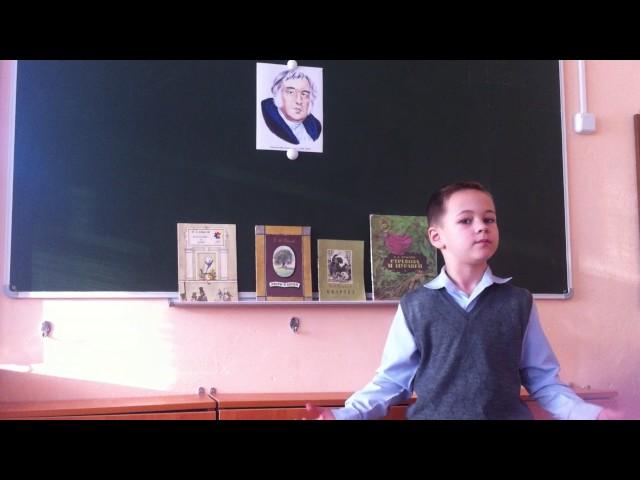 Изображение предпросмотра прочтения – АнтонКолбасов читает произведение «Чиж и Голубь» И.А.Крылова