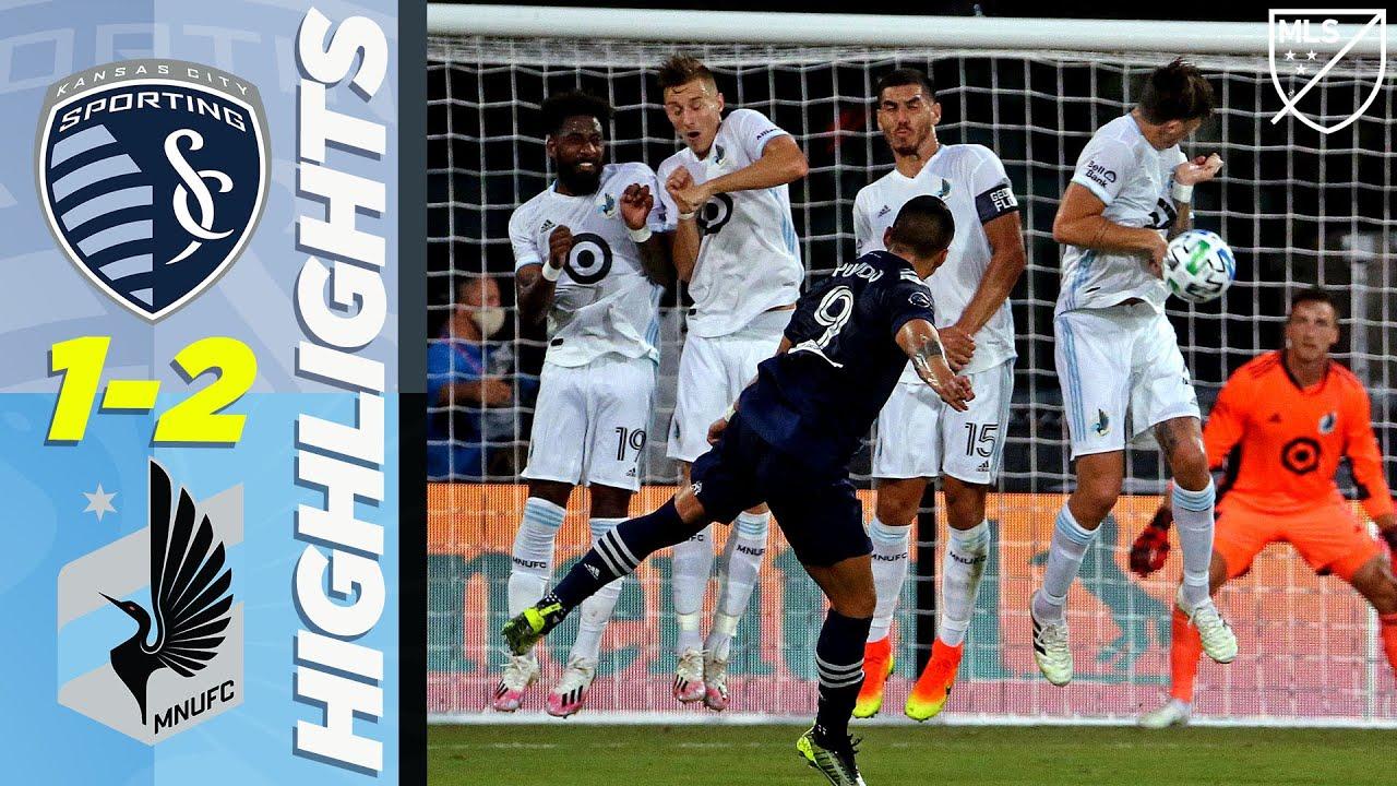 Sporting Kansas City 1-2 Minnesota United FC | Red Card Drama | MLS Highlights