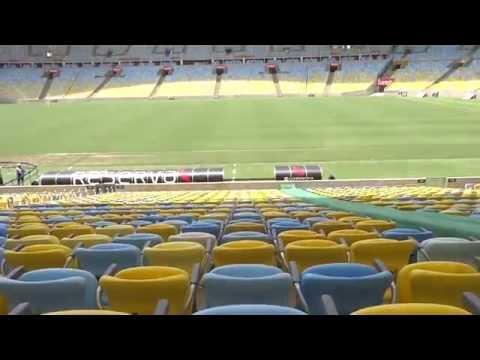Maracana Stadium Tour Olympics Opening Ceremony Venue Rio 2016
