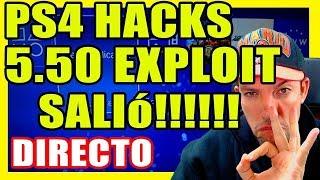 PS4 Hacks - Exploit 5.05 se convierte en exploit WK 5.50 - RetroGamer Tutoriales