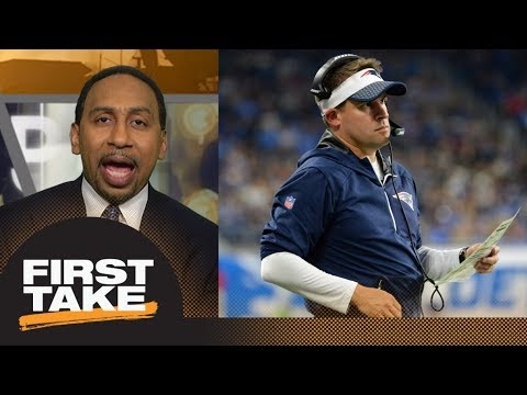 Stephen A. calls out Josh McDaniels: It was a soft, weak and unprofessional move | First Take | ESPN