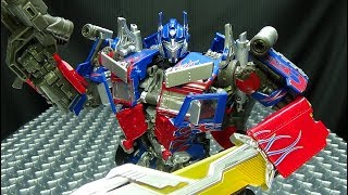 MPM-4 Masterpiece Movie OPTIMUS PRIME EmGo&#39s Transformers Reviews N&#39 Stuff