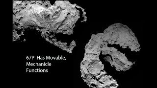 This is NOT a Comet: 67P is a TRANSFORMING MACHINE