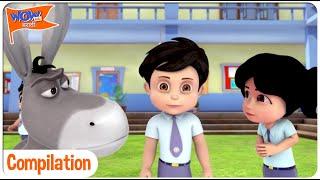 Vir The Robot Boy In Marathi | Compilation 10 | Wow Kidz मराठी